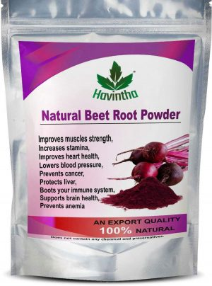 Havintha Natural Beet Root Powder For Improves Heart Health and Blood Pressure – 227g