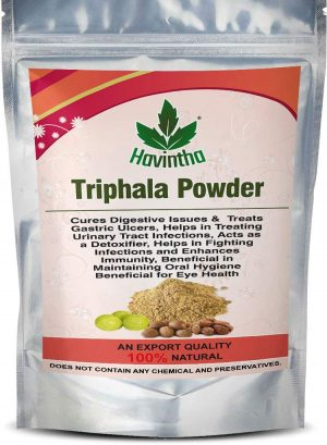 Havintha Natural Triphala powder for Fighting Infections and Enhances Immunity – 227 Grams